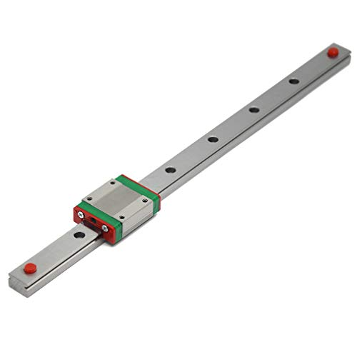 ReliaBot 300mm MGN15 Linear Rail Guide with MGN15C Carriage Block for DLP...