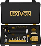 LEXIVON Butane Torch Multi-Function Kit | Premium...