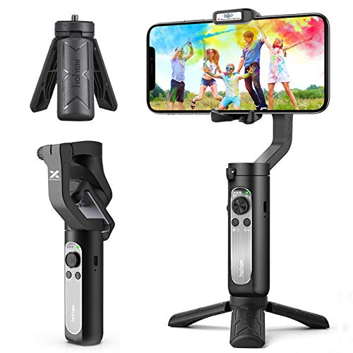 3-Axis Gimbal Stabilizer for Smartphone - 0.5lbs...