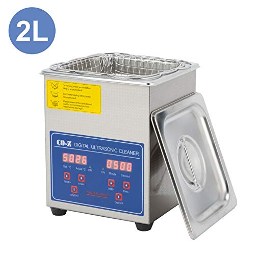 CO-Z 2L Professional Ultrasonic Cleaner with Digital...