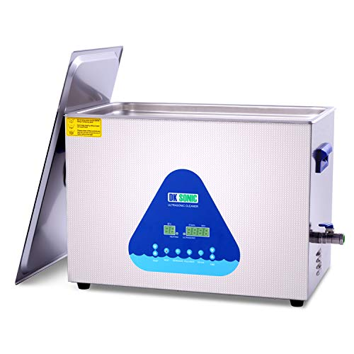 DK SONIC Ultrasonic Cleaner with Heater and Basket...