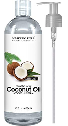 Majestic Pure Fractionated Coconut Oil - Relaxing Massage Oil, Liquid...