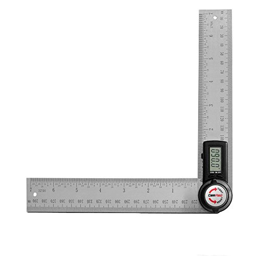 GemRed Digital Angle Finder Protractor (Stainless...