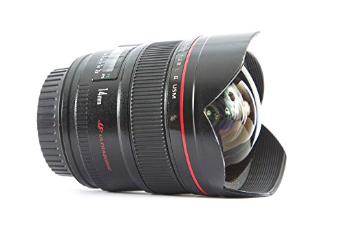 Canon EF 14mm f/2.8L II USM Ultra-Wide Angle Fixed Lens for Canon Digital...
