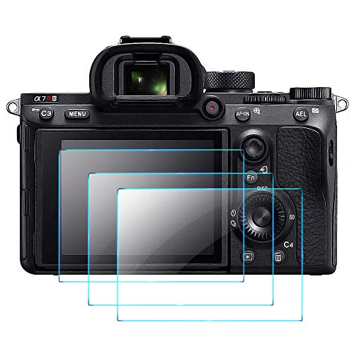 Screen Protector Compatible with Sony Alpha a7RIII a7RIV A7R3 A9 A7RII...