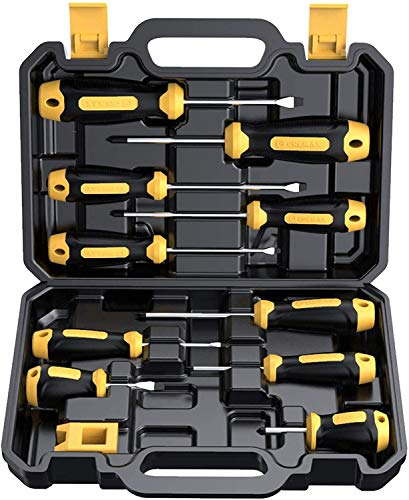 Magnetic Screwdriver Set 10 PCS, CREMAX...