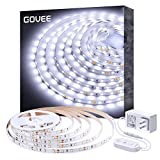 White LED Strip Lights, Govee Upgraded 16.4ft Dimmable LED...
