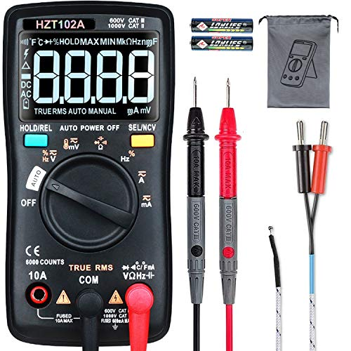 HASAGEI Multimeter, T-RMS 6000 Counts Digital...