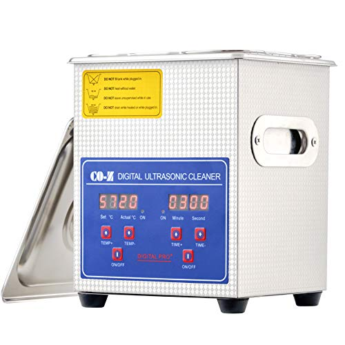 CO-Z 2L Ultrasonic Cleaner with Digital Timer and...