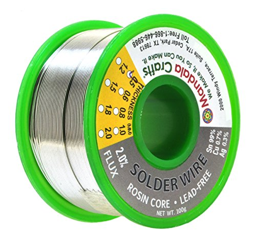 Rosin Core Lead Free Solder Wire for Electrical, Electronic,...