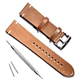 Handmade Vintage Replacement Leather Watch Strap/Watch Band...