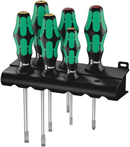 Wera - 5105650001 Kraftform Plus 334/6 Screwdriver...