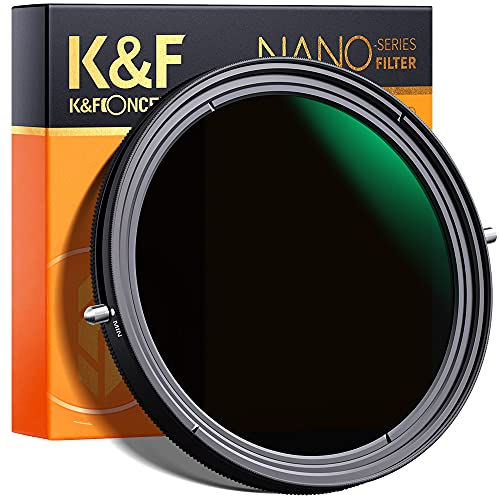 K&F Concept 67mm Variable Fader ND2-ND32 ND Filter and CPL Circular...
