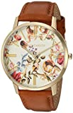 Vince Camuto Women's VC/5322FLHY Gold-Tone and Brown Leather...