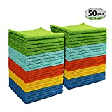 AIDEA Microfiber Cleaning Cloths All-Purpose Softer Highly...