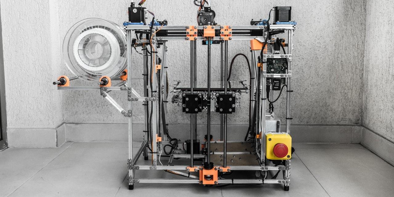Makerbeam 3D printer