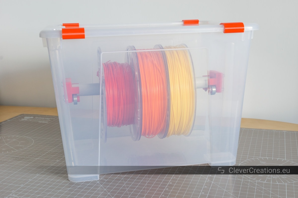 DIY 3D Printer Filament Dry Boxes – CleverCreations