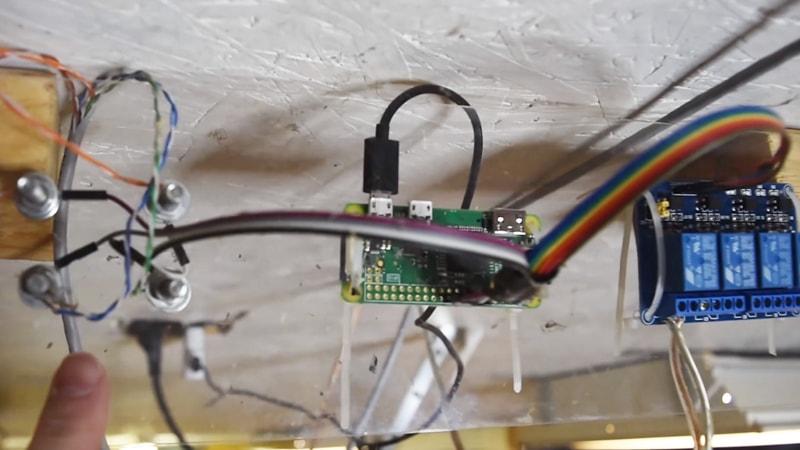 Garage Door Opener & Monitor