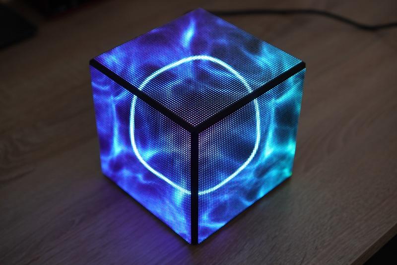 Matrix Cube CPU Monitor