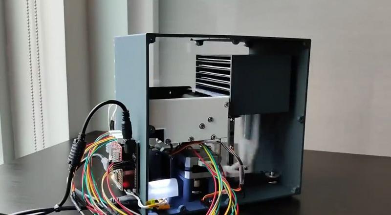 Rigged Card Sorting Machine
