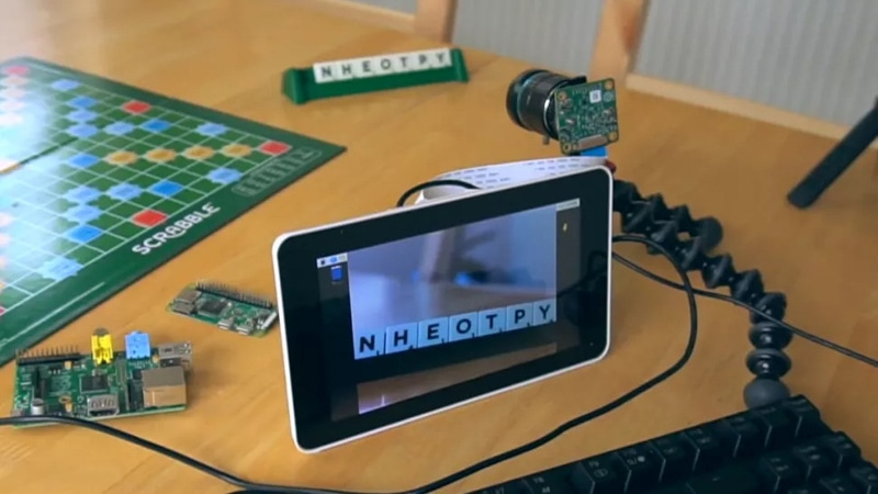 Scrabble Cheating Device