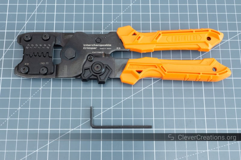 Unboxing of the Engineer PAD-11 crimping tool.
