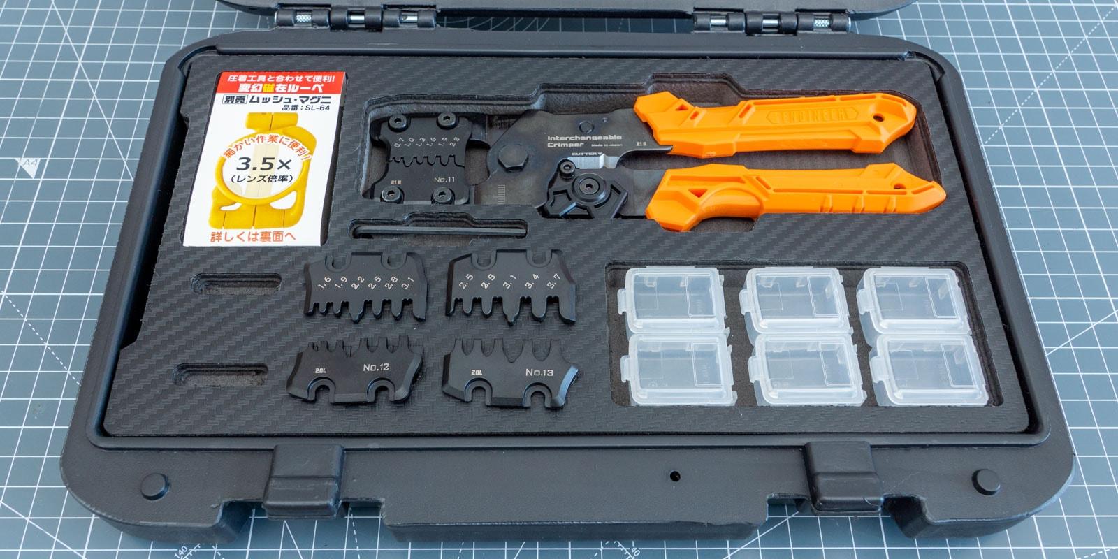 Engineer PAD-02 Crimping Tool Kit Review