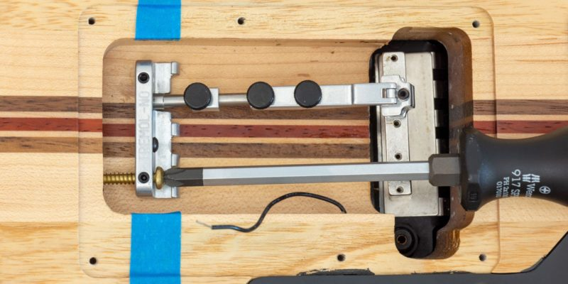 How to Install a Tremol-No System in Your Guitar